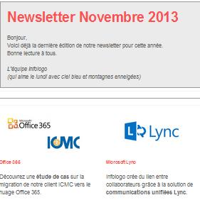 Newsletter novembre infologo