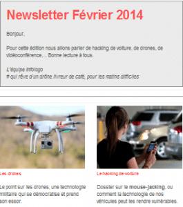 Newsletter février infologo