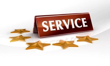 Service 5 étoiles