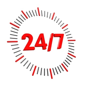 Support infrastructure informatique 24h/24