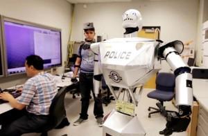 Robot agent de sécurité