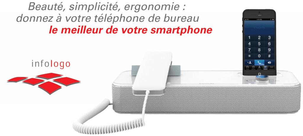 Invoxia central smartphone
