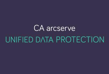 CA arcserve UDP