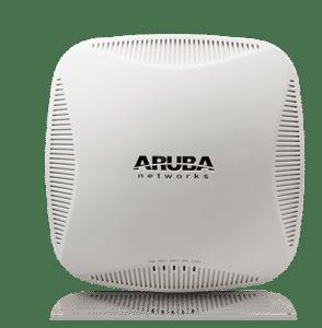 Borne Aruba Wifi