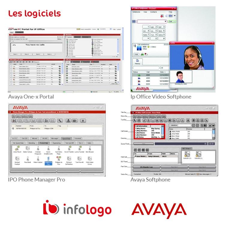 Avaya logiciels de la suite IP office