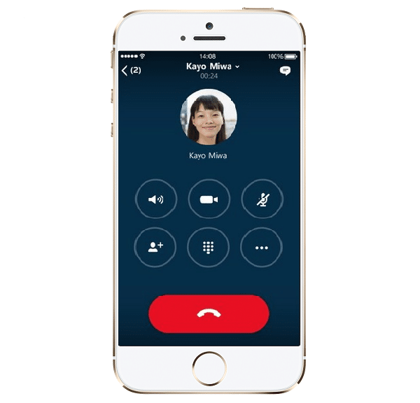 Skype sur IOS