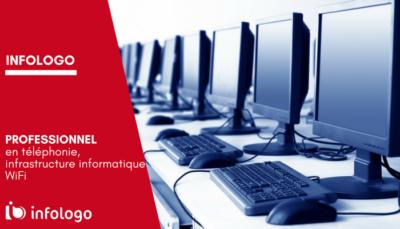 Infologo - professionnel téléphonie, Wi Fi et infrastructure informatique