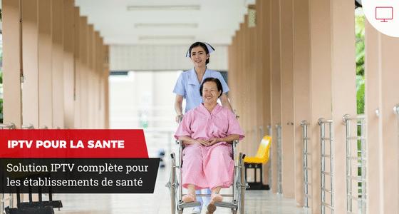 Solution IPTV pour les établissements de santé à Genève