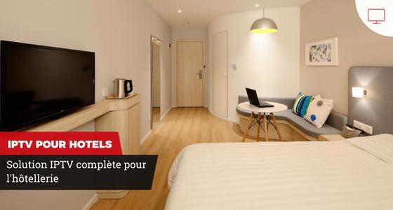 Solution IPTV pour l'hôtellerie Genève