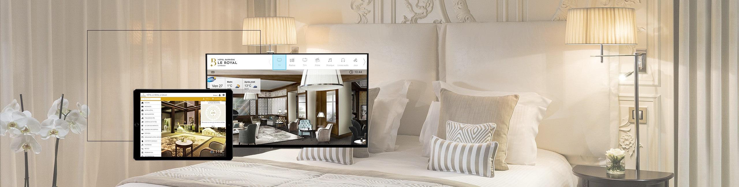 Solution IPTV pour l'hôtellerie en Suisse