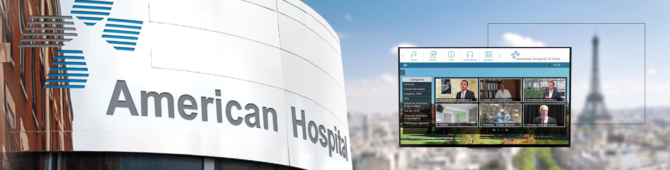 Solution IPTV pour la santé en Suisse
