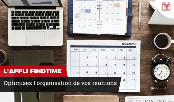 L'application FindTime pour organiser vos réunions