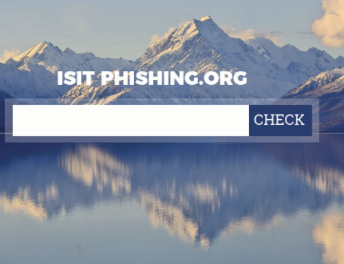 isitPhishing.org – Des outils pour combattre le phishing