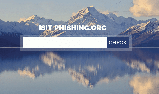 Services et outils anti phishing