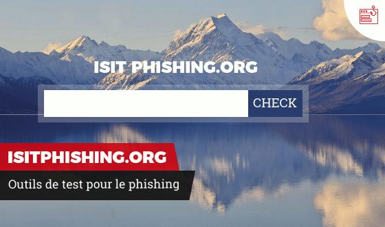 Outils de test pour le phishing