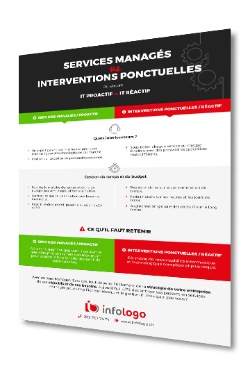 infographie services managés
