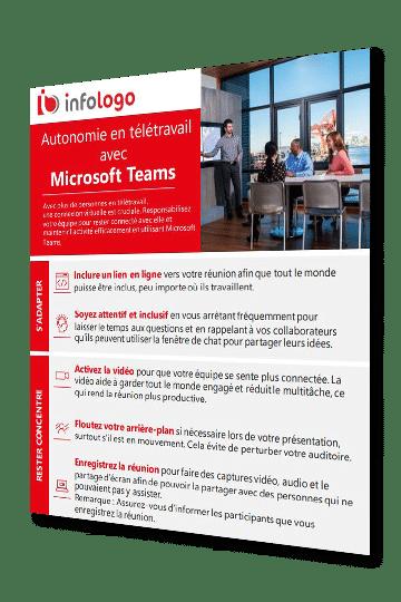 infographie microsoft teams